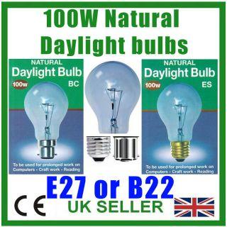 Daylight Simulation, GLS Bulb, SAD Light, Therapy Lamp, Art Craft