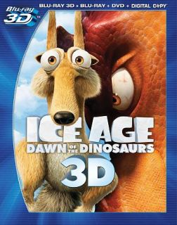 Ice Age Dawn of the Dinosaurs Blu ray DVD, 2011, 4 Disc Set, Includes
