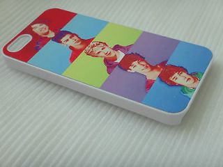 Mobile Cell Phone Hard Case Cover For iPhone 5 1D One Direction Fans E