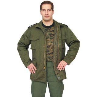 Green VIETNAM ERA M 65 FIELD JACKET – Removable Liner/Concealed Hood