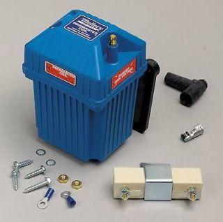 Mallory Ignition Coil Promaster E Core Square Oil Filled Blue 55000 V