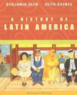 Latin America by Keith Haynes and Benjamin Keen 2003, Paperback