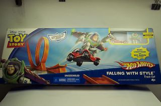 Hot Wheels Toy Story Falling with Style (Red Baron Car)