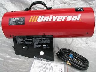 UNIVERSAL 170 FA 125,000 170,000 Btu PROPANE/LP FORCED AIR HEATER
