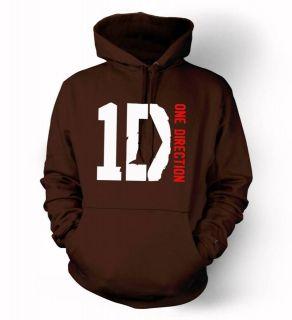 1D One Direction logo Hoodie Niall Zayn Liam Louis Harry boy band fan