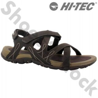 TEC SPORTS WALKING SANDALS SIZE UK 4   8 WAIMEA FALLS CHOCOLATE WOMENS