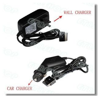 Charger Power Adapter+ Car Charger/Cord For Asus eee Pad Transformer
