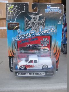 64 GMC SIERRA X CAB WHITE & RED (WEST COAST CHOPPERS) BY MUSCLE