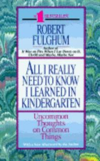 robert fulghum kindergarten essay