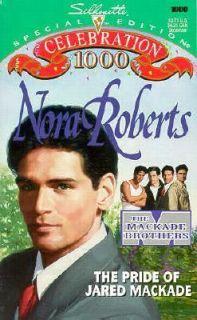 The Pride of Jared MacKade Vol. 2 by Nora Roberts 1995, Paperback