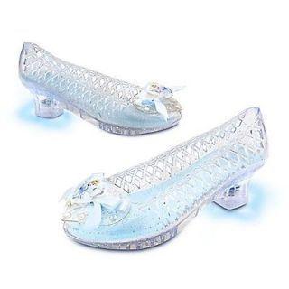 Disney Princess Cinderella Light Up Shoes Girls size 9/10
