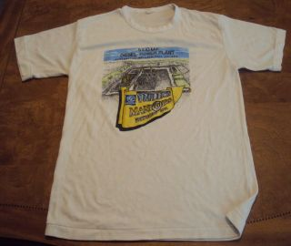 Vntg. Diesel Power Plant 80s SOFT shirt (S) VT#399