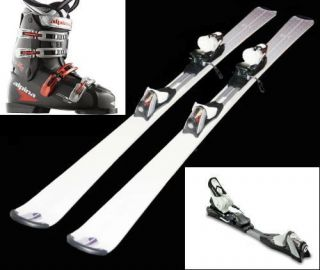 new mens intermediate ski package skis bindings boots from united
