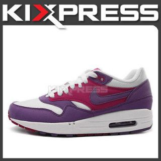 Nike WMNS Air Max 1 ND [319986 502] NSW Running Purple/White B​erry