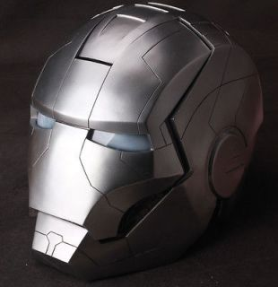 Iron Man War Machine Light Wearable Cosplay Helmet