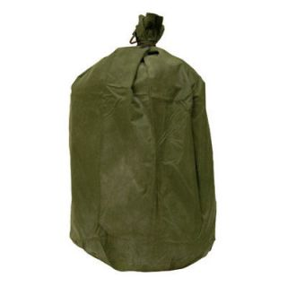 ONE MILITARY ISSUE WATERPROOF BAG, OLIVE (LOTS AVAILABLE)