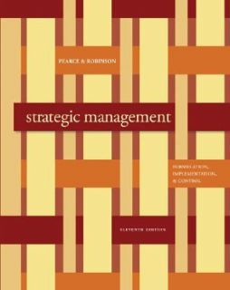 Management by Richard Robinson and John Pearce 2008, Hardcover