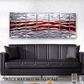 Metal Abstract Wall Art Painting Sculpture Decor Caliente By Jon Allen
