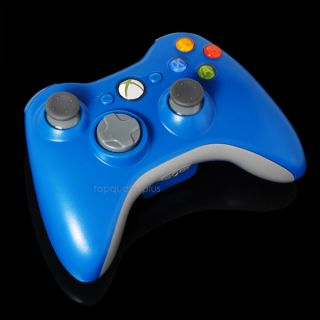 blue xbox 360 controller in Controllers & Attachments