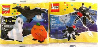 LEGO Halloween & Spider Set Polybag 40020 & 40021 *New*