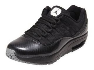 Nike Jordan Mens CMFT Viz Air 11 Carbon Fiber Shoes Black $110.00