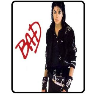 New Michael Jackson BAD MJ Rare Fleece Blanket Gift
