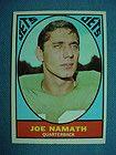 1967 Topps #98 Joe Namath. New York Jets EX *1740