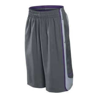 Nike LeBron James GT9 Mens Basketball Shorts Gray/Purple #439163 064