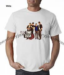 big time rush t shirt in Womens Clothing