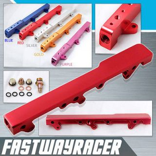B16 B17 B18 B20 B16A B18C1 B18C5 B16B Red Fuel Rail Top Feed Injector
