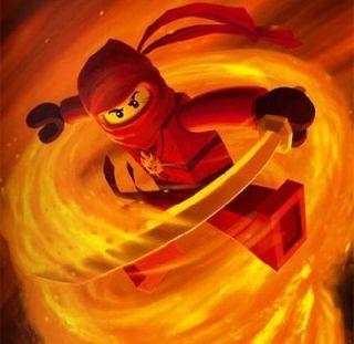 Lego Ninjago Red Ninja Kai ~ Edible Image Icing Cake, CupcakeTopper