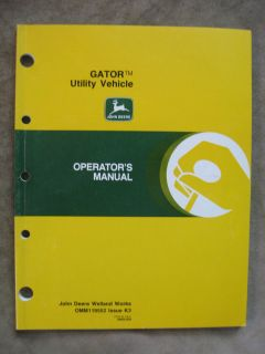 john deere gator manual in Business & Industrial
