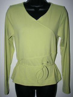 tuff athletics women s yoga shirt size small