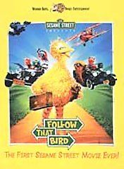 Sesame Street   Follow That Bird DVD, 2002