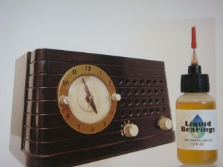 TOP synthetic oil for GE General Electric clock radios, PLEASE READ