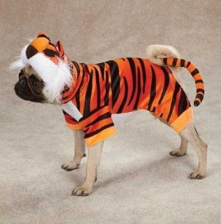 Casual Canine Bengal Buddy TIGER Dog Halloween Costume XS XL