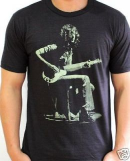 Jimmy Page Guitarist LED ZEPPELIN VTG Rock T Shirt L