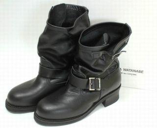 JUNYA WATANABE COMME des GARCONS__Black Belt Engineering Boots__2010 A