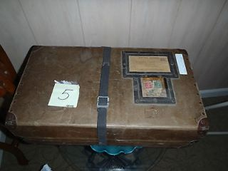 Newly listed WW II Box with Flag, newspaper and gurney