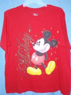 NEW Plus Size Womans Short Sleeve Mickey Mouse Tee Top Shirt Size 1X