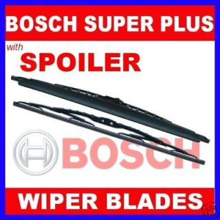 bosch wipers pair spoiler kia picanto rio 2005 08 location