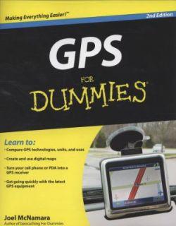 GPS for Dummies by Joel McNamara 2008, Paperback