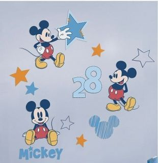 Disney Mickey Mouse Collection Wall Decals LARGE Stickers   Boys