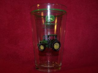 Gibson Designs John Deere Tractor~Nothin​g Runs Like A Deere Glass