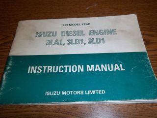 Isuzu 3 Cylinder 33 3HP 29KW Diesel Engine 3LD1
