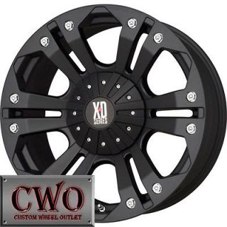 Newly listed 18 Black XD Monster Wheels Rims 8x165.1 8 Lug Chevy GMC