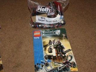 Lego Castle Knights Kingdom II Scorpion Prison Cave (8876) NEW