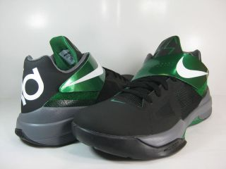 Zoom KD IV Basketball Shoes New Black Green KD Kevin Durant 43679004