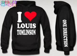 LOVE louis tomlinson HOODIE niall zayn liam louis one directioN 1d