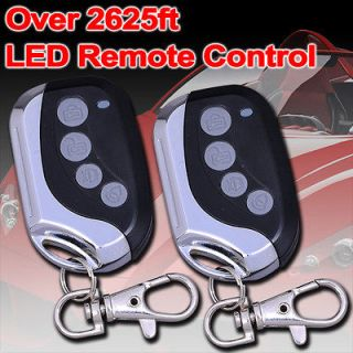 Car Alarm Keyless Entry Remote Start Starter Vehicle Security System